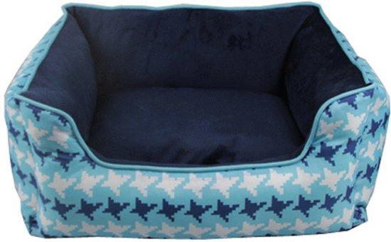 Adori Mand Rechthoek Giza Blauw 60x50x20 cm