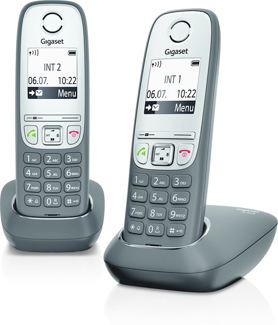 Gigaset A415 - Duo DECT telefoon - Zwart
