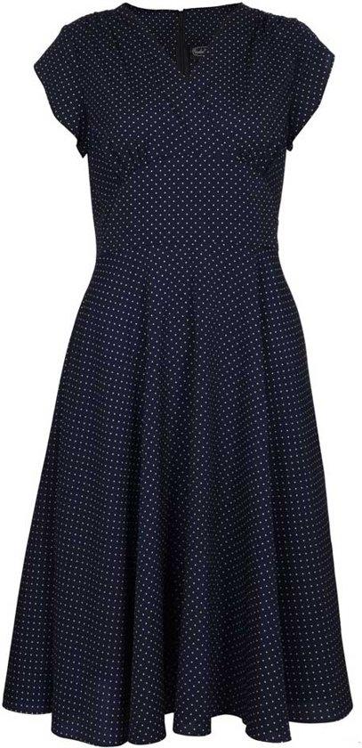| Voodoo Vixen Lange jurk 2XL Tabby Zwart
