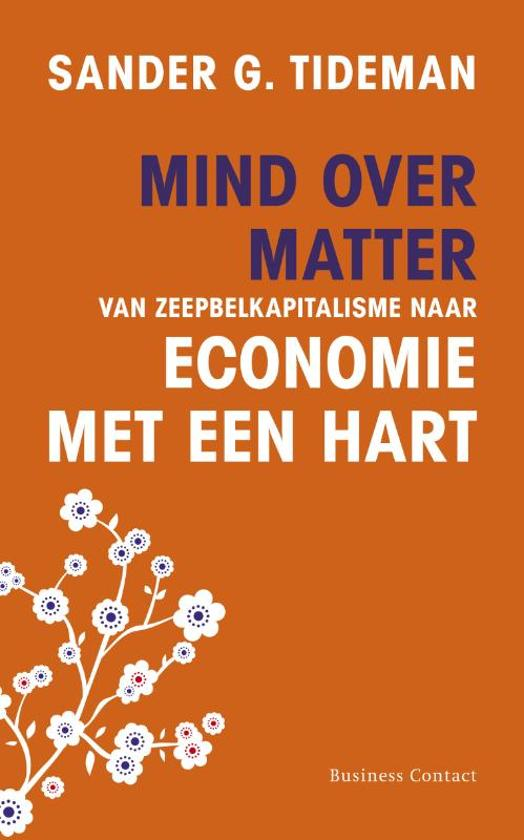 Boek cover Mind over matter van Sander G. Tideman
