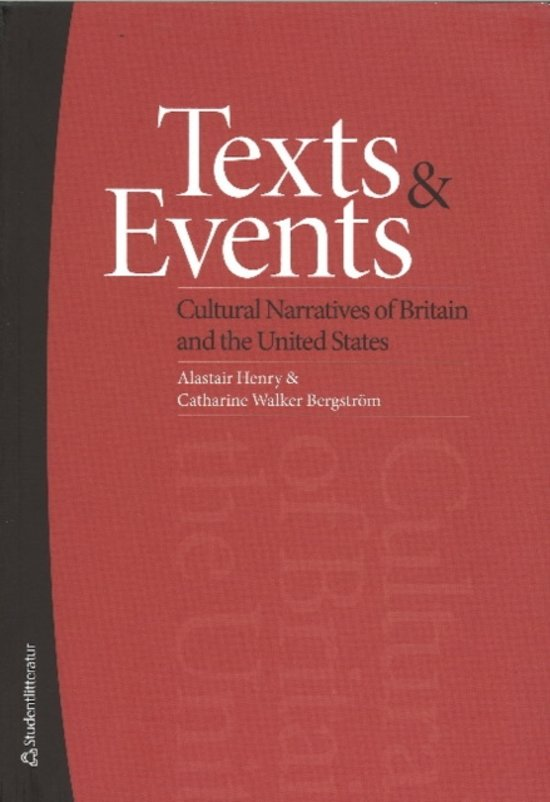 Texts and Events