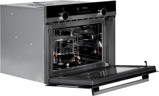 Siemens Cm585ams0 Iq500 Inbouw Combi Magnetron Zwart
