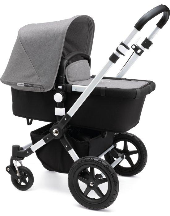 Bugaboo Cameleon³ Kinderwagen - Aluminium / Zwart / Gemȇleerd Grijs