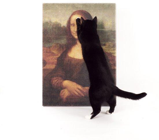Mona Lisa Copycat Art Scratcher