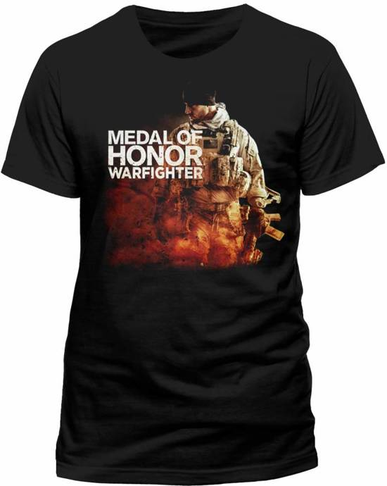 MOH Warfighter - Black Character T-shirt - L