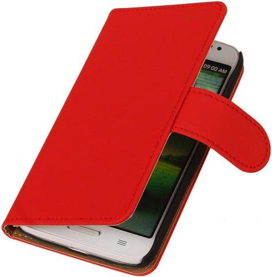 Alternate Bookcase HTC Desire 610 Flip Cover Wallet Hoesje Rood in Rijswijk