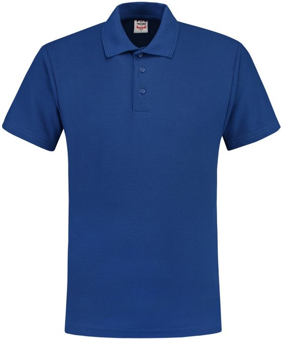 Tricorp Poloshirt 100% katoen - Casual - 201007 - koningsblauw - maat S