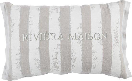 Kussens Van Riviera Maison.Bol Com Riviera Maison Vigorous Sierkussen 40x60 Cm Wit
