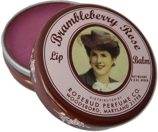 Rosebud Salve Brambleberry Rose - 22 gram - Lippenbalsem