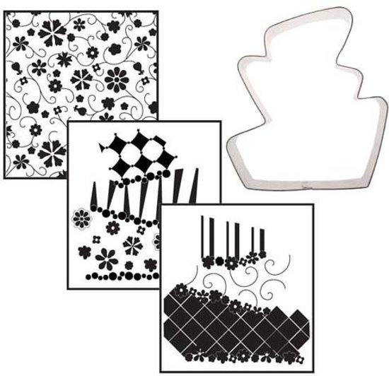 CK Cookie Cutter Texture Set - Topsy Turvy <>