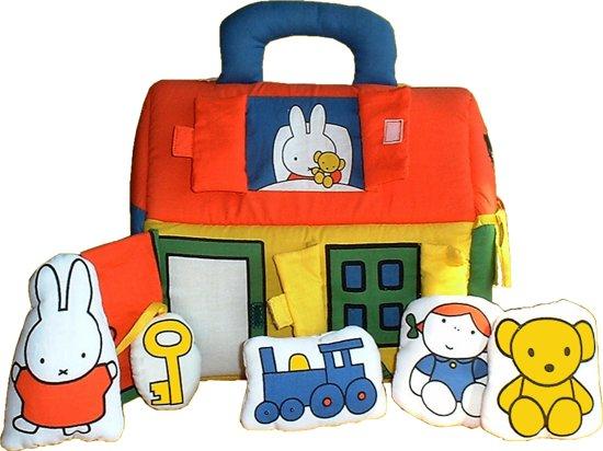 Goede bol.com | Nijntje Stoffen Speelhuisje, Rubo Toys | Speelgoed BQ-94