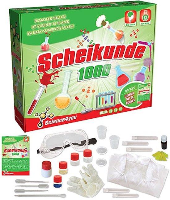 Science 4 You Scheikunde 1000 - Experimenteerset