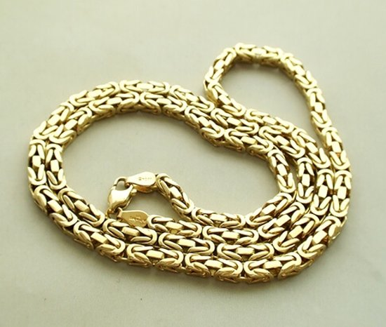 gouden ketting 24 karaat