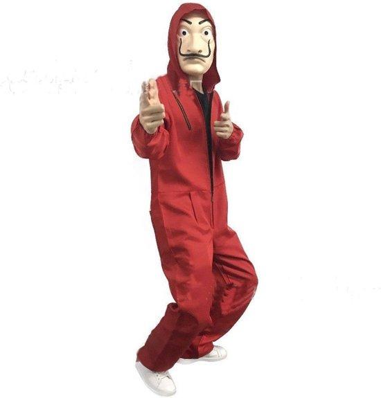 bol.com | La Casa De Papel Kostuum met Masker - Verkleed Overal ...