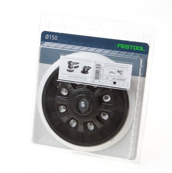 Festool Steunschijf ST-STF D150/17ft-m8-w-ht