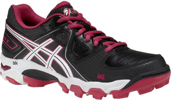 Asics Gel-Blackheath 5  Sportschoenen - Maat 37 - Vrouwen - zwart/roze/wit