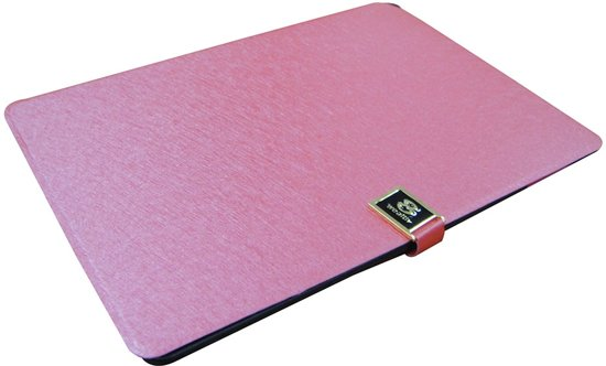 Rose lederen flip case cover voor iPad 5 / Air