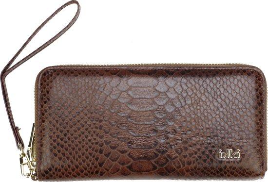 15b28e521a6 bol.com | Ikki Fashion Cassy - Portemonnee - Bruin