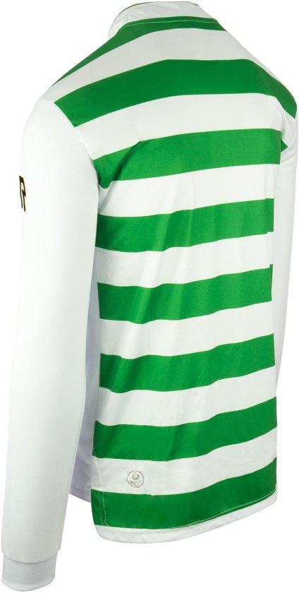 LsVoetbalshirt white Robey Shirt Legendary Stripe Maat M Green 3jqA54ScRL