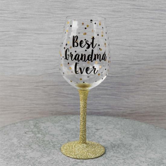 wijnglas best grandma