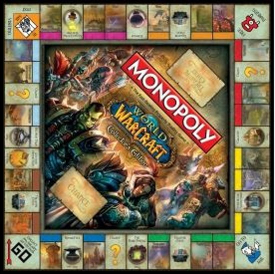 Monopoly World of Warcraft Usaopoly - Collector's Edition Bordspel - Engelstalig