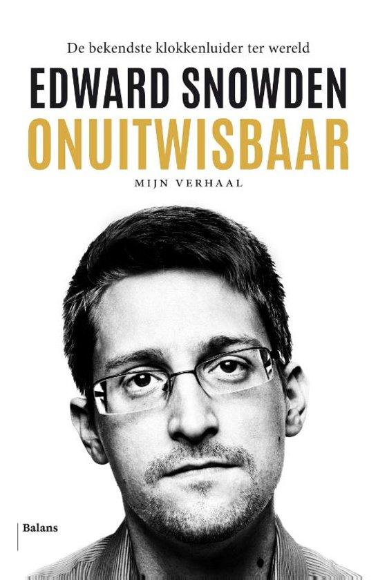 Boek cover Onuitwisbaar van Edward Snowden (Paperback)