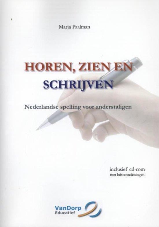Boek cover Horen, zien en schrijven van Marja Paalman (Paperback)