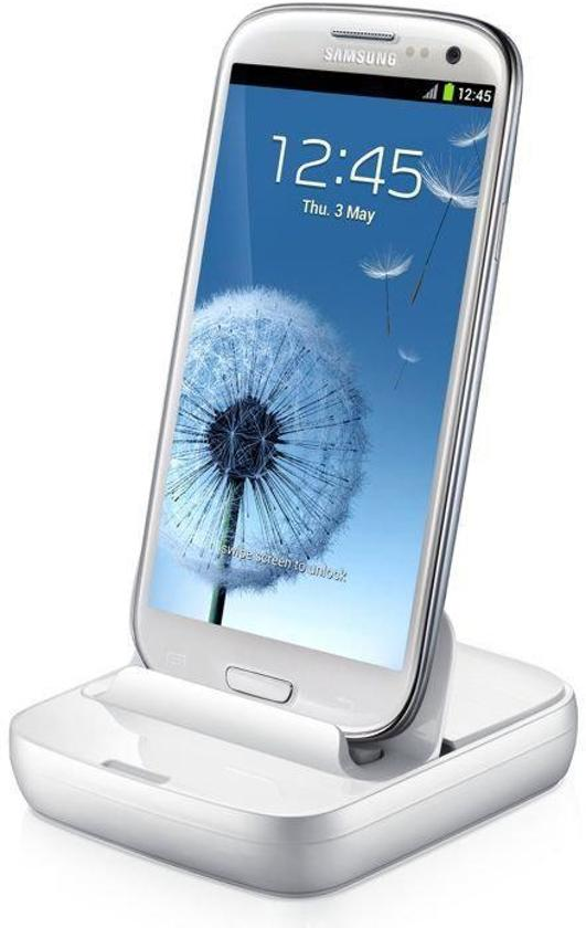 Samsung Dock EDD-D200WE (white) oa. Voor Galaxy S3 mini, S2,S3,Note,Note 2