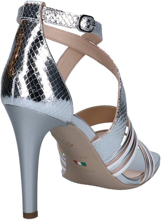 NeroGiardini Zilveren Sandalen Dames 38