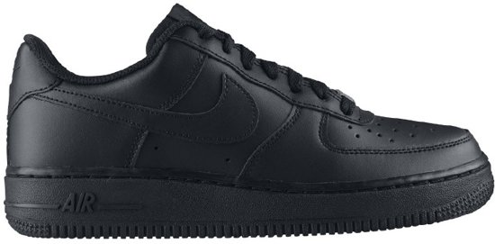 Nike Air Force One Zwart