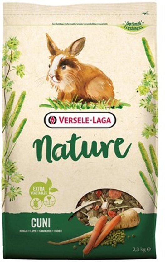 Versele-Laga Nature Cuni Konijnenvoer - 2,5 Kg