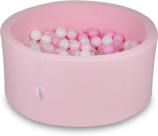 Ballenbak - 300 ballen - 90 x 40 cm - ballenbad - rond roze