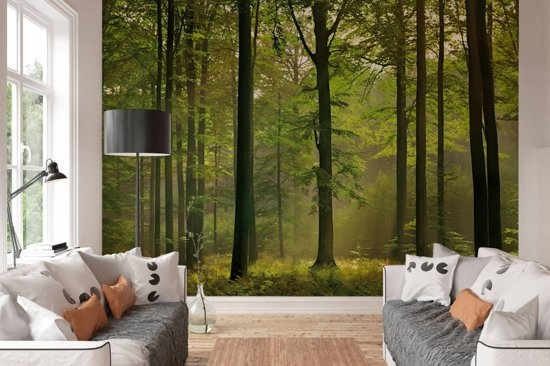 W+G Behang Ideal Decor Mural Autumn Forest B.3,66m. x H.2,54m.