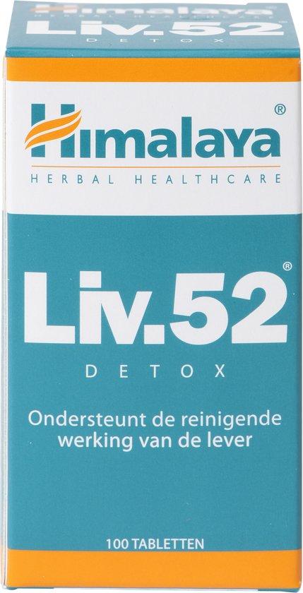 Himalaya Liv 52 - 100 Tabletten - Voedingssupplement