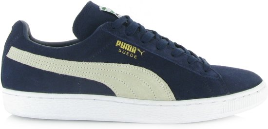 Puma Dames Sneakers Suede Classic - Blauw - Maat 46