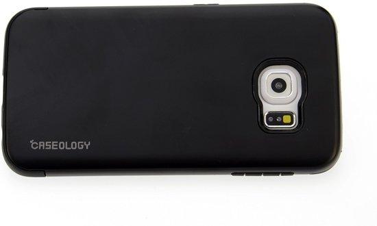 Backcover hoesje voor Samsung Galaxy S6 Edge - Zwart