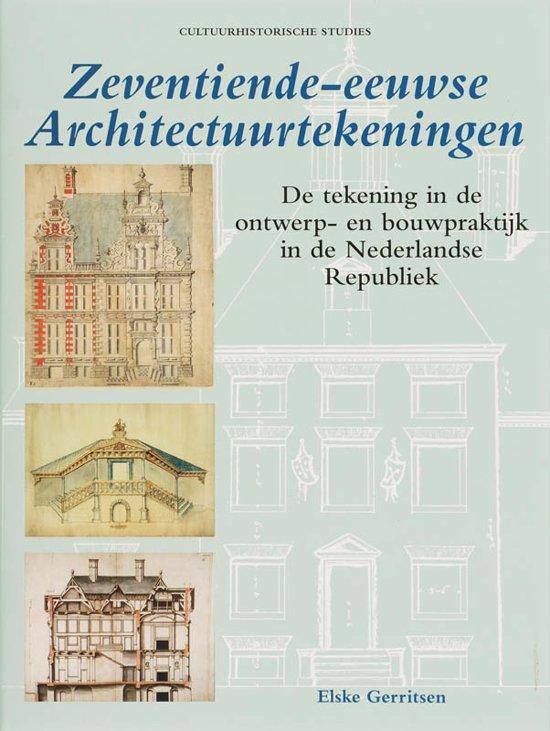 Zeventiende-eeuwse architectuurtekeningen
