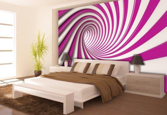Pink | Violet Photomural, wallcovering