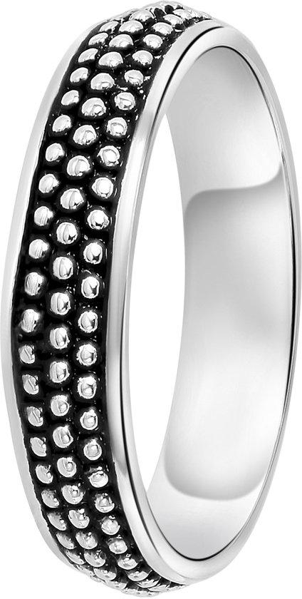 Lucardi - Zilveren ring Bali