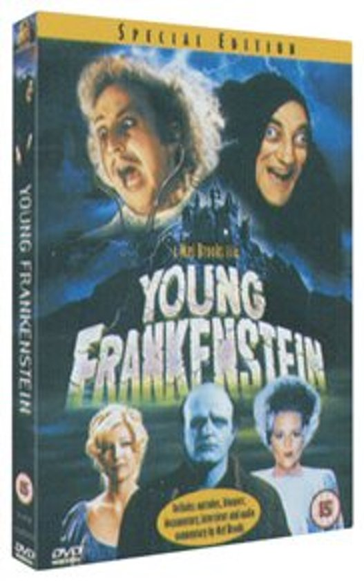 DVD cover van Young Frankenstein