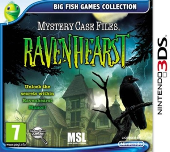 Mystery Case Files: Ravenhearst - 2DS + 3DS