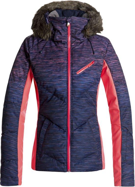 Roxy Roxy Snowstorm Wintersportjas Maat M Vrouwen rozepaarszwart