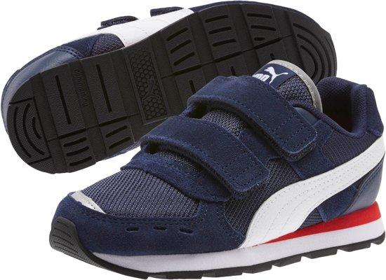 PUMA Vista V Ps Sneakers Kinderen Peacoat Puma White Maat 48