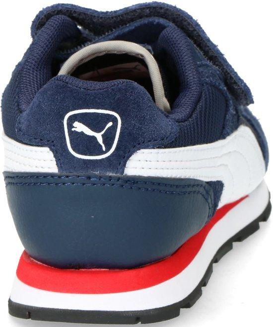fe8d878bb88 PUMA Vista V Ps Sneakers Kinderen - Peacoat / Puma White - Maat 48 ...
