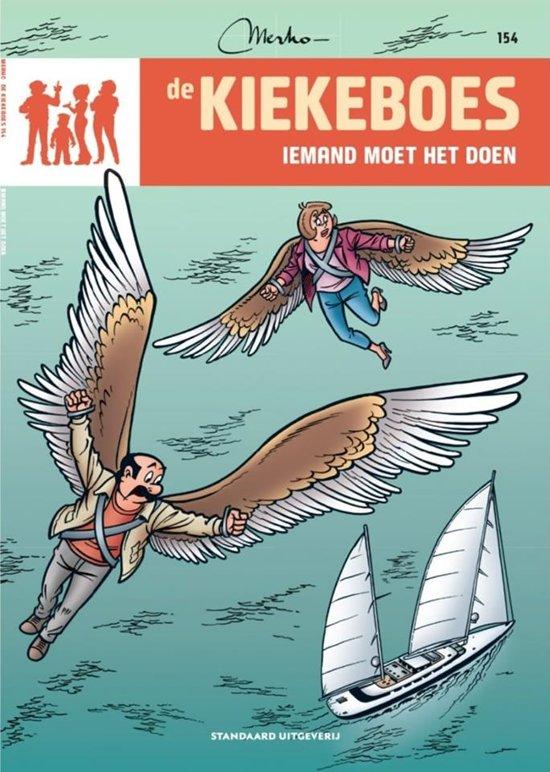 Boek cover de Kiekeboes 154 - Iemand moet het doen van Merho (Paperback)