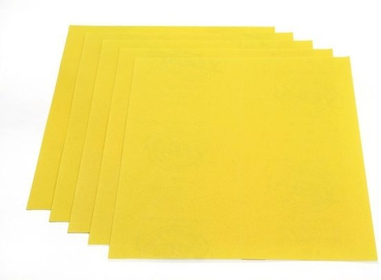 Schuurpapier aluminium oxide middel