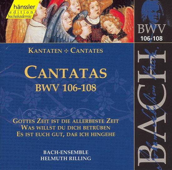 Cantatas BWV106-108