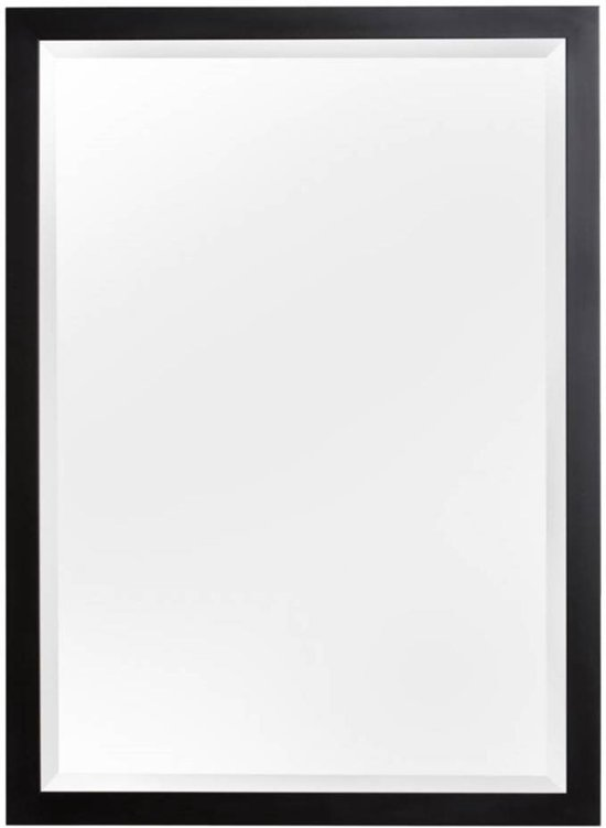 bolcom  KunstSpiegel New York  Spiegel  Hout  67×57 cm  Zwart