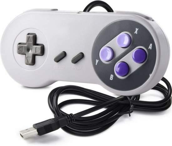 SNES | Super Nintendo controller met USB aansluiting voor o.a. je Raspberry Pi| 1 stuk
