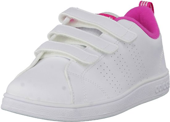 137d8727228 bol.com   Adidas Vs advantage clean - Sneakers - Meisjes - Maat 28 - Wit